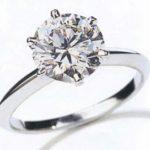 Sebentuk Cincin Permata Berlian