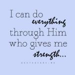 Mencari Kekuatan Diri