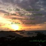 Checklist Sebelum Ramadhan
