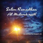 Salam Ramadhan Al Mubarak 1437H