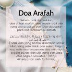 Doa Di Hari Arafah