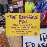The Erasable Pen